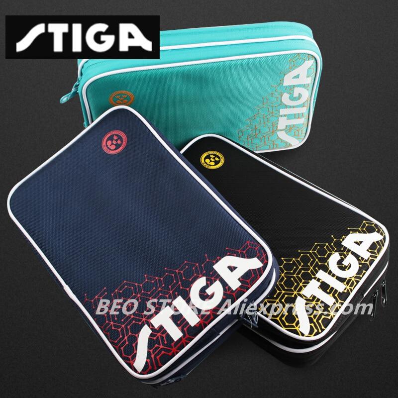STIGA Table Tennis Rackets Bag Original For Training Professional Blade Bat Ping Pong Case Set Tenis De Mesa