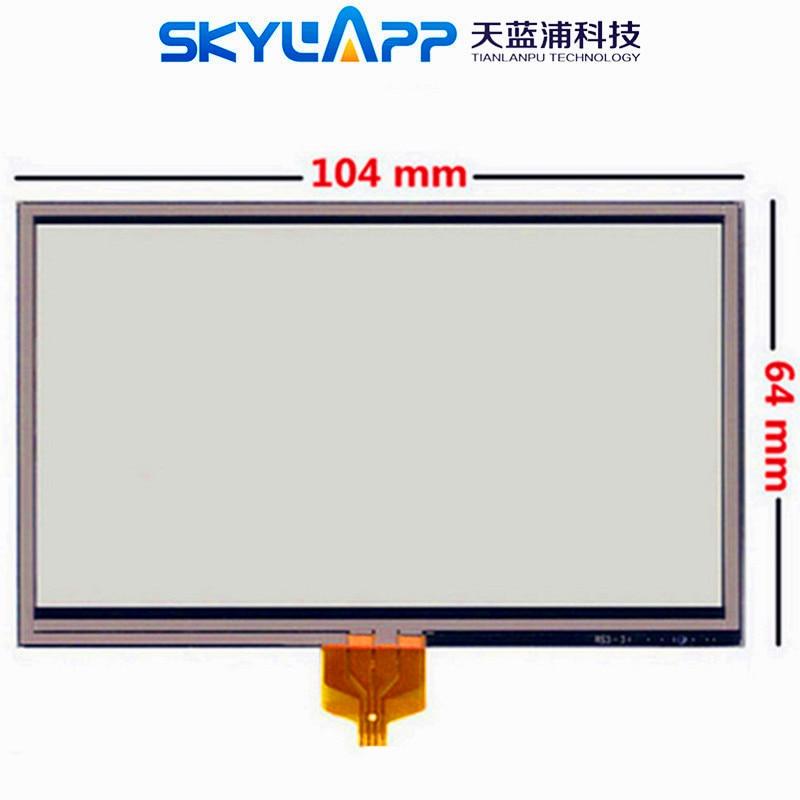 Новый сенсорный экран 4,3 дюйма для TomTom XL 340 340S 340T, сопротивление, ручная работа, сенсорная панель, стекло, дигитайзер, ремонт, Бесплатная почта