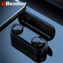 Ubeamer X6 tws真のワイヤレスイヤホンのbluetoothヘッドフォン