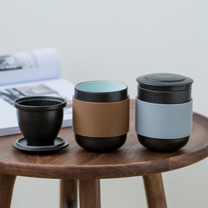 1PC Coffee With Lid Portable D