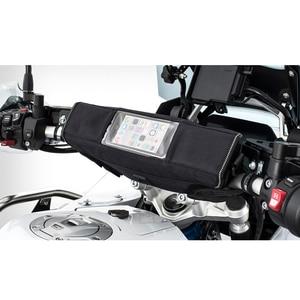 Image 2 - Motorrad Camouflage wasserdichte lenker reise GPS navigation tasche Reflektierende Sattel Tasche Für Triumph 800 1200 Tiger Sport
