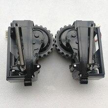Original esquerda direita roda para ilife v7s mais robô aspirador de pó ilife v7s mais robô aspirador peças rodas incluem motor