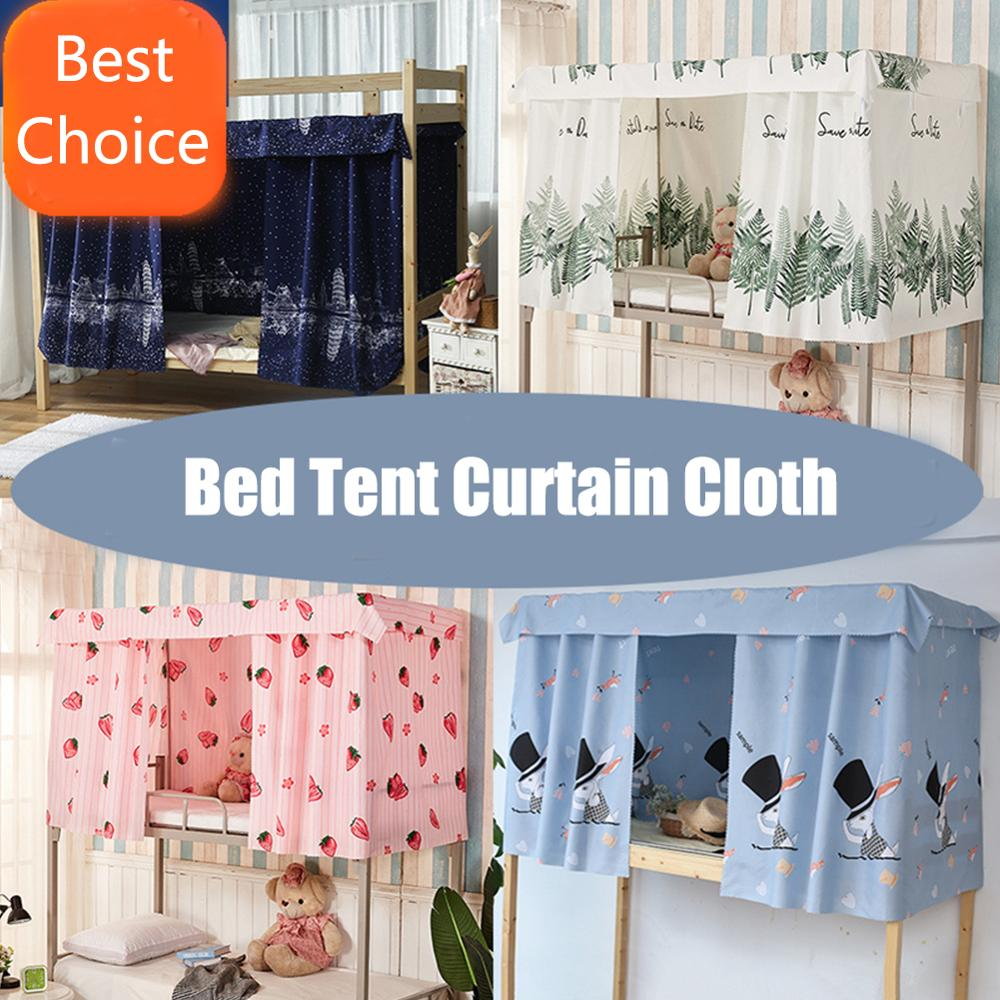 1pc blackout curtains bed bunk bedroom shade cloth privacy protection mantle mosquito net student dormitory bed nets bed curtain
