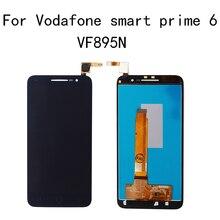 Para a Vodafone Inteligente prime6 VF 895 Display LCD V895 V895N VF895N caligrafia tela sensível ao toque de montagem de peças de reparo do telefone Móvel
