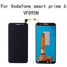 ل فودافون الذكية prime6 VF 895 LCD V895 V895N VF895N عرض بخط اللمس شاشة الجمعية الهاتف المحمول إصلاح أجزاء