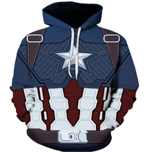 Avengers 4 Endgame Quantum Realm Cos Captain Iron Man Hoodie New Mens Hooded Sweatshirt