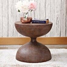 Песочные часы, диван-столик, древние журнальные столики, стиль индустриальный столик, прикроватный столик