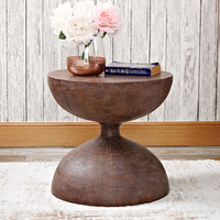 Sand Clock sofa side table ancient coffee tables style industriel end table bed side table