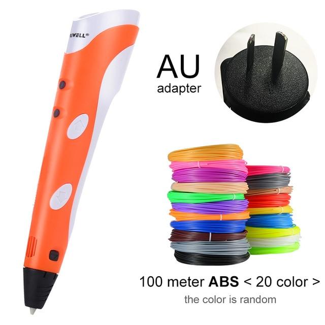 Orange AU-100m ABS