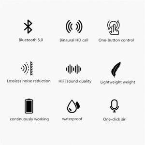 Image 4 - Wireless Bluetooth 5.0 Earphones TW08 TWS Mini Headset Headphones