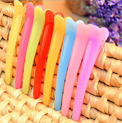 1/5/10Pcs Professional Hairdressing Accessory Plastic Hair Clip Salon Grip Barrette Hairpins Styling Tool