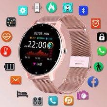 LIGE – montre connectée de sport pour femmes, écran tactile, étanche IP67, Bluetooth, pour Android et iOS, 2021