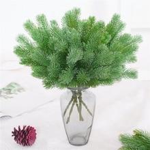 1PC 36cm Artificial Pine Needles Simulation Plant Flower Arranging Accessories for Christmas Trees Decorative