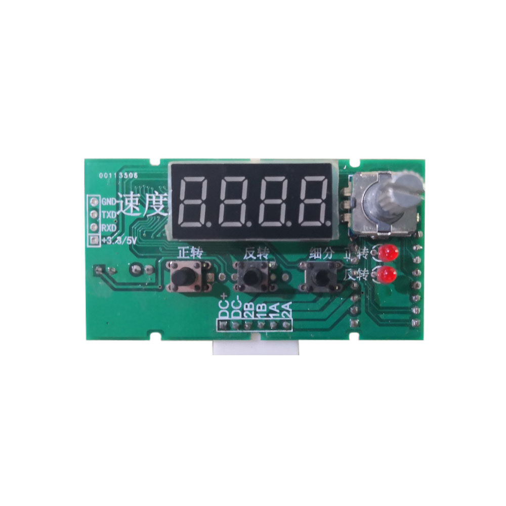 Taidacent 57/42 Rotary Encoder Stepper Motor Speed Control With Potentiometer DC Stepper Motor Driver Timer Pulse Relay Switch