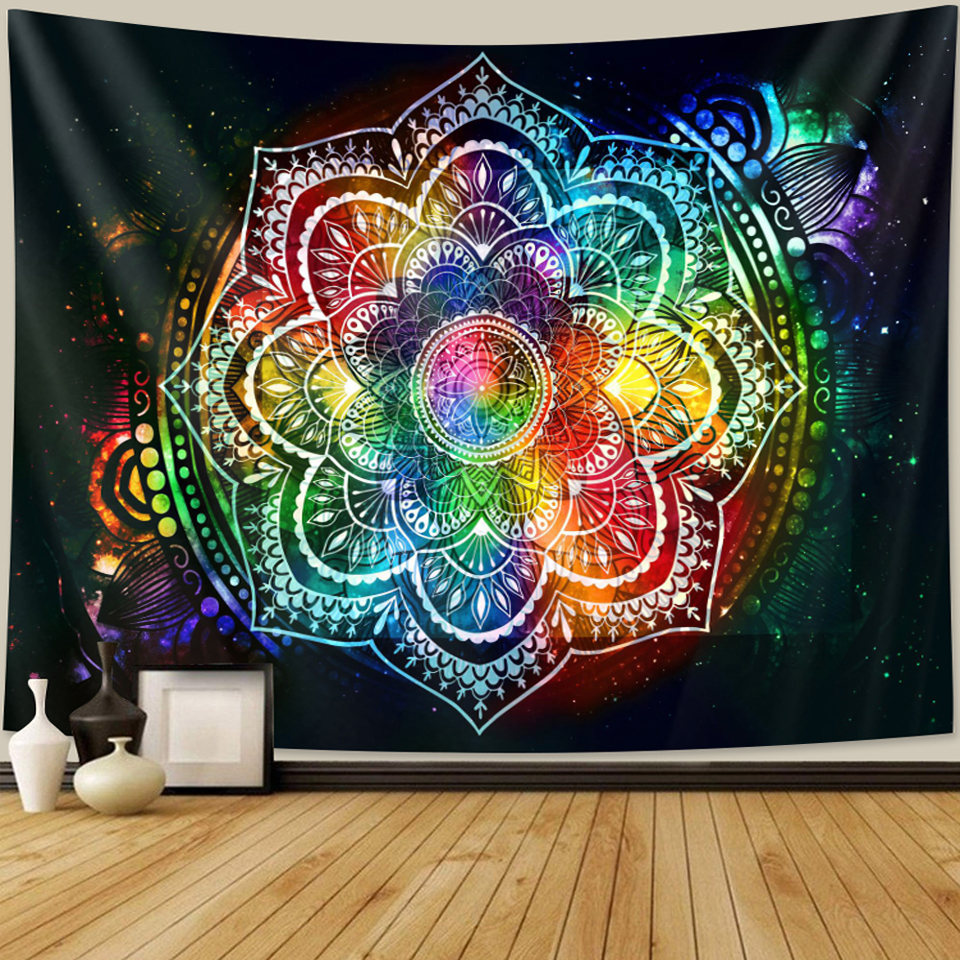 2020 new products India Mandala tapestry witchcraft tapestry Bohemian decoration home decoration Hippie mattress