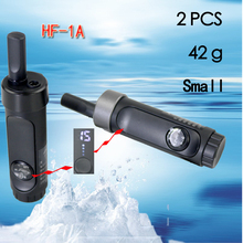 2 PCS HONGFENG 1A Mini walkie talkie telefon Tragbare Ham radio scanner zwei weg radio Communicator VHF walkie talkie
