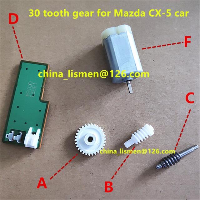 30 歯ドアサイドミラーモータ倍モーター金属 2013 年 3 bl 2.0 M3 CX 5 CX 7 CX 4 車