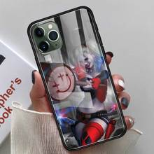 Birds of Prey Harley Quinn New Fitted Case for Apple iPhone 11 Pro XR 6 6S 7 8 Plus X XS MAX Tempered Glass Mobile Phone Shell