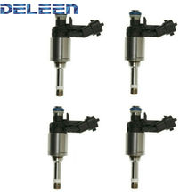 Injetor de combustível de alta impedância fj1060/12608362/fj1154/12633784 gdi deleen 4x para audi acessórios do carro