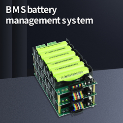 80A 40A BMS battery management system DIY power bank 3S 6S series welding-free battery box 12V 24V18650 battery holder