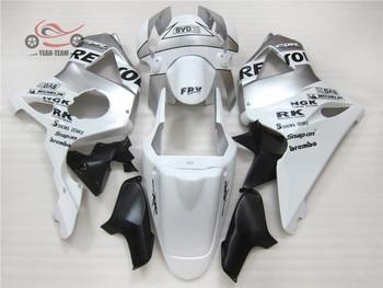 Body kit For HONDA 2002 2003 02 03 CBR900RR CBR954RR CBR 900CC 954 900 954RR CBR900 CBR954 RR white repsol body fairing kits