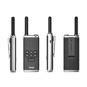 Image 5 - (2 pièces) talkie walkie YMAO uhf PMR446 PRS462 Portable radiocommunicateur puissant talkie walkie lampe de poche émetteur récepteur HF