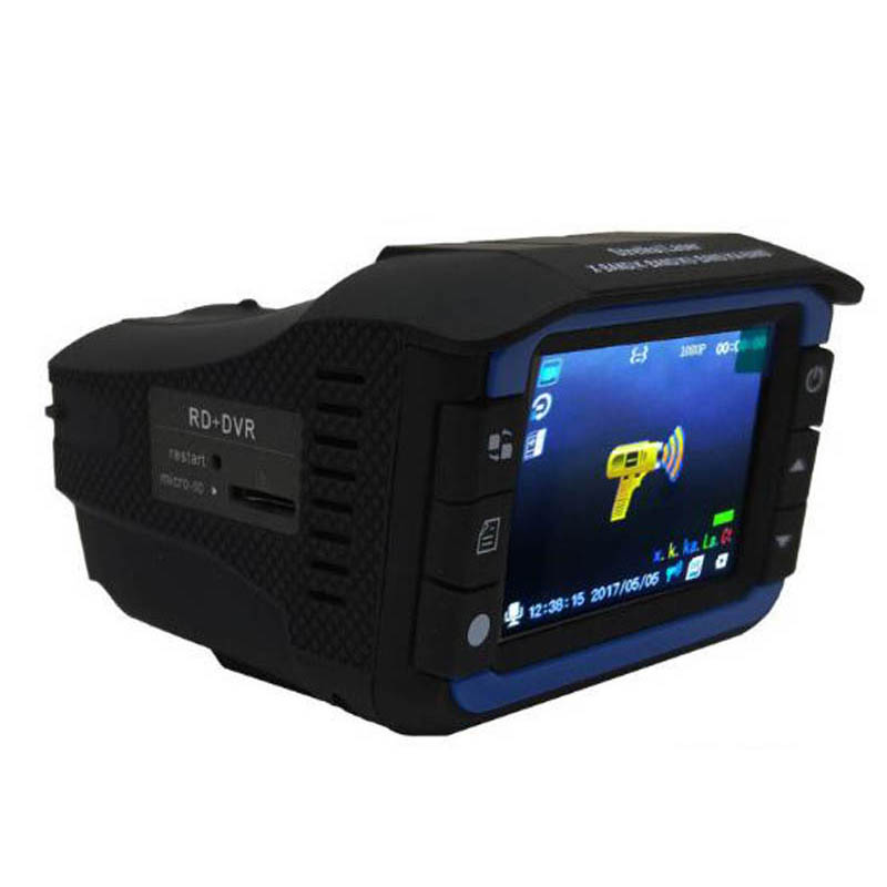 Radar Detectors 3 In 1 CAR DVR GPS Camera Logger Dash Cam Radar Detector for Russia Laser 2020 OBD TOOL 1080p Detector(China)