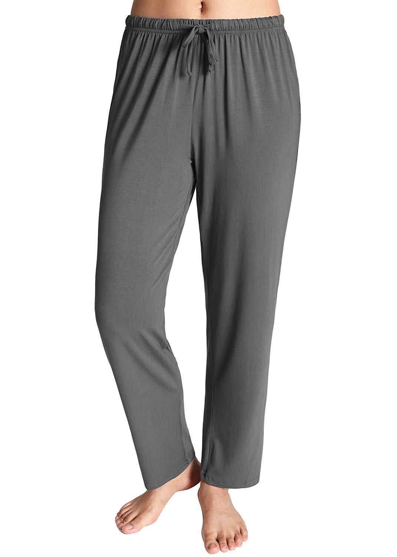 Women's Knit Loungewear Pajama Pants Regular  Regular  Casual  Ankle-Length Pants 5 Pieces