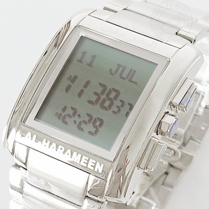 Image 3 - Muslim Athan Watch for Prayers with Qibla Direction Mosque Prayer Wristwatch with Alfajr Time