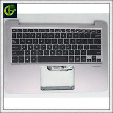 Inglês Retroiluminado teclado top case para ASUS RX410U UX310 UX410 RX310 U310 U310U UX4000 U4000 U4000U U4000UQ UX310U UX410U EUA