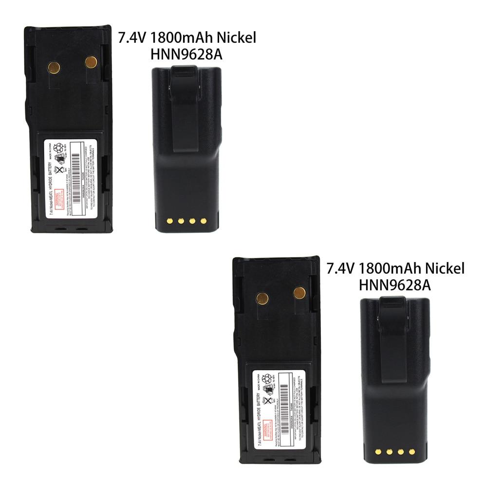 2X 1800mAh Battery For Motorola GP300 GTX800 PTX600 PRO3150 P080 P040 MTX638 LTS2000 LCS2000 GTX900 GP88S GP600 GP308 CP250