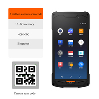 Smart PDA Handheld Terminal Inventory Machine 1D Code QR Code Scanner 5.0 HD Touch Large Screen