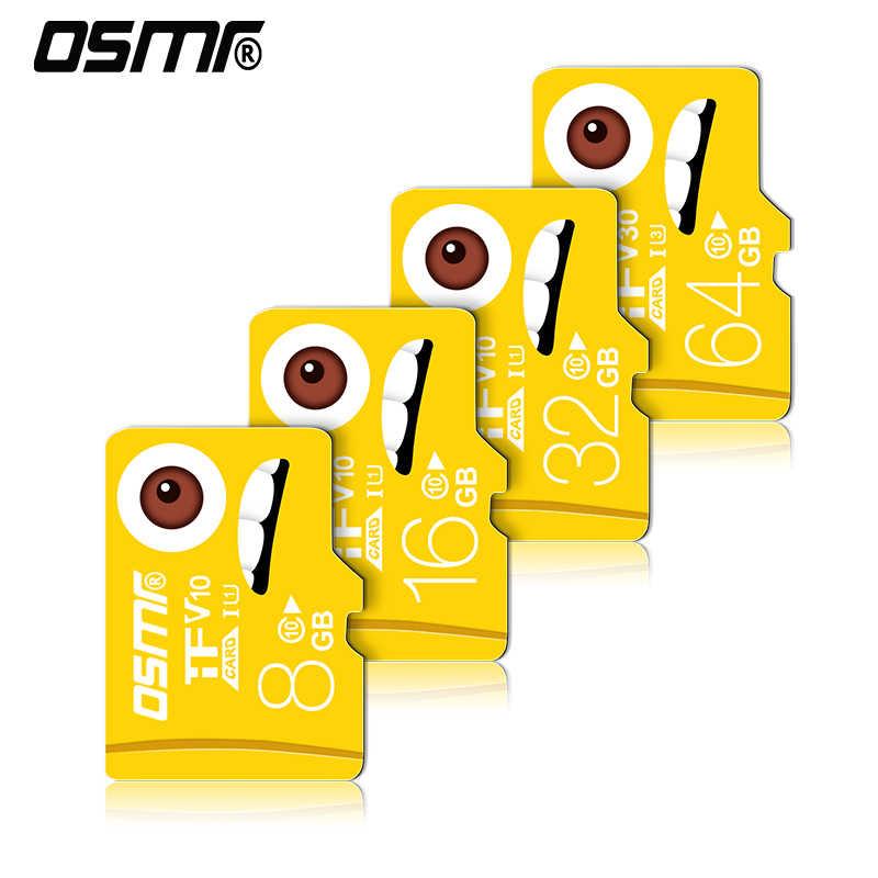 R0W4 Thẻ nhớ Micro SD 8 GB Mini 128 GB Thẻ nhớ Micro 16 GB SD Mini Flash c10 MP3/4 người Chơi Game Thẻ SD 32 G