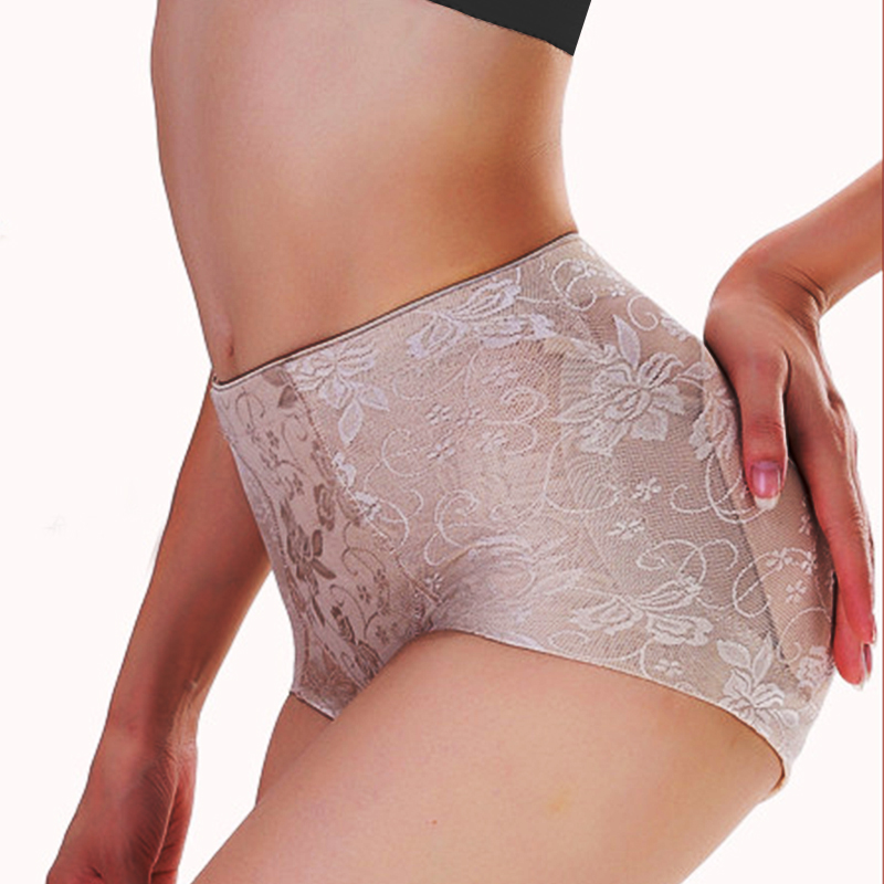 2Twinso Women Control Panties with Pad Butt Lifter Hip Enhancer Lace Party Dress Underwear Push Up Big Ass Fake Butt Body Shaper 1
