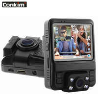 Conkim wifi Dual Lens DVR Car Video Recorder Novatek 96660 Full HD 1080P Dash Cam Auto Registrar GPS DVRs With 2 Cameras GS66