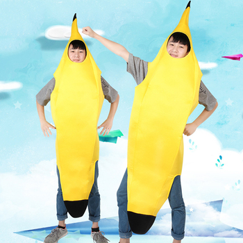Creative Carnival Costume Unisex Cosplay Fancy Dress Funny Banana Novelty Halloween Christmas Party Decorations - discount item  40% OFF Costumes & Accessories