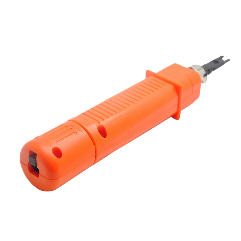 Punch Down Impact Tool Kit with 110 Blade Type for Ethernet Punch Down Block Keystone Jack & Network Wire Cable Repair