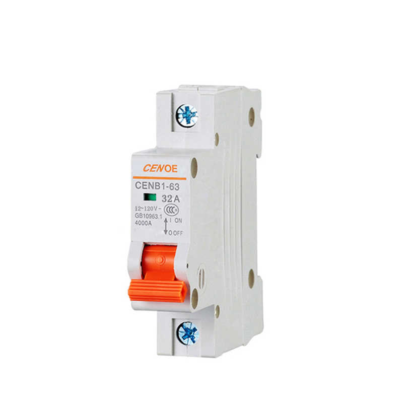 the most ideal electrocar battery protector circuit breaker dc 1P DC 120V 40a dc breaker with short circuit overload protection