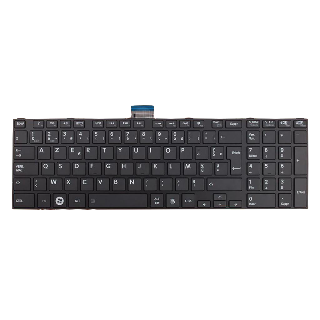 French Layout Replacement Keyboard for Toshiba Satellite Pro C850 C855 C850D C870 L850 L855 Laptop Keyboard High Quality image