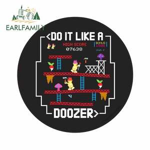 EARLFAMILY 13cm x 13cm for Do It Like A Doozer Fraggle Car Stickers and Decals Fashion 3D Custom Printing Vehicle VAN Decoration