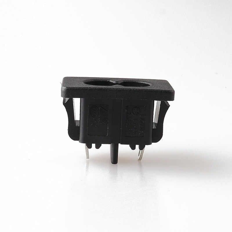 LZ-8-6S1 Groothandel Pop Socket Iec 60320 C8 Inlaat Ac Power Socket C8 Ac Stopcontact Connector