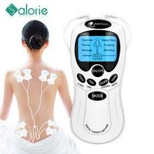 8 mode EMS Electric herald Tens Machine Acupuncture Body Massage Digital Therapy Massager Muscle Stimulator Electrostimulator