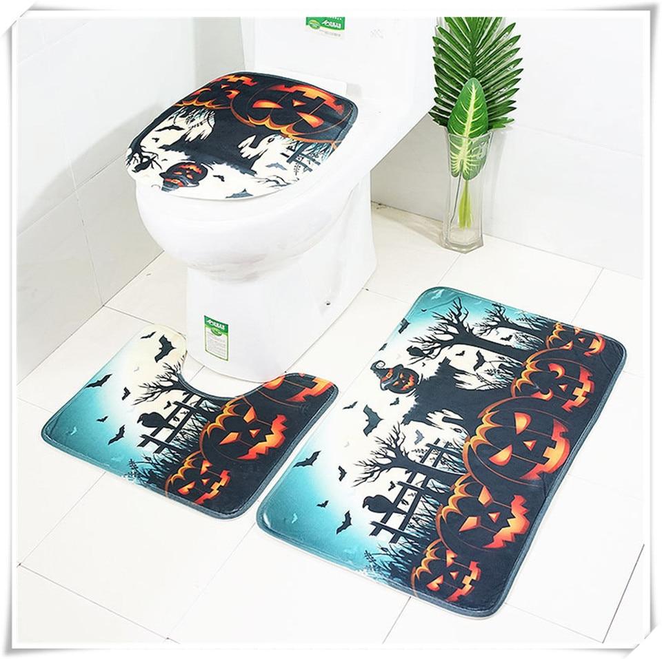 Halloween Bathroom accessories set xq5