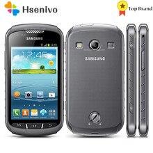 Samsung s7710 remodelado-original samsung xcover 2 s7710 1700mah 5mp gps wifi 4.0 touchscreen celular desbloqueado frete grátis