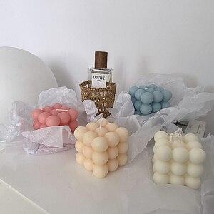 Волшебный куб восковая ароматическая свеча для дома декорации Фото Реквизит ароматическая свеча