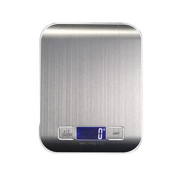 10 кг ЖК-дисплей Портативный Электронные цифровые весы карманные чехол почтовой Нержавеющаясталь Кухня Еда весы Баланс весы # LR1