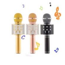 Детский микрофон для караоке, микрофон, Аудио Микрофон, устройство для караоке