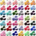 Мягкая хлопковая трикотажная детская одежда 25 г, свитер, шарф, вязание крючком, 4-слойная мягкая пряжа, разноцветная детская Шерстяная трико...