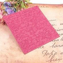 15x15 см дневник стихов, Искусственный Пластик для скрапбукинга, DIY шаблон, помадка, торт, фотоальбом, изготовление открыток