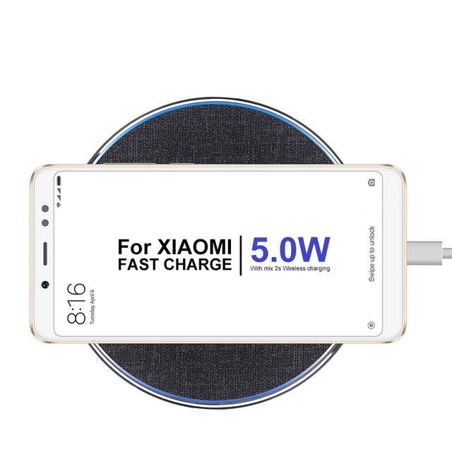 HEYPOD Wireless Charger For iPhone 11 X XR 8 plus 10W QC Fast Wireless Charging For Samsung S9 S10 S8 Note 7 8 9 USB Charger Pad 8